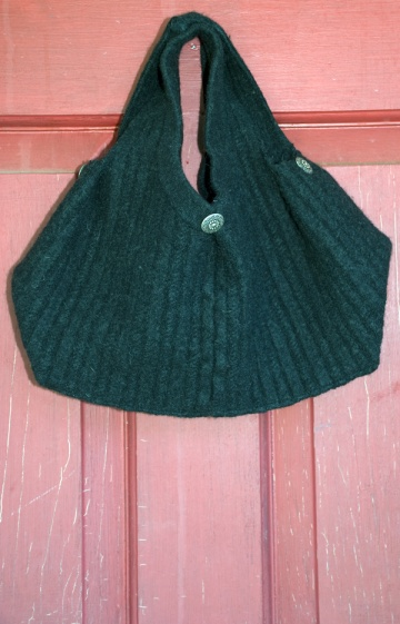 Recycled Sweater Vest Bag