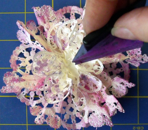 Altered paper doilies think crafts by createforless another mightylinksfo
