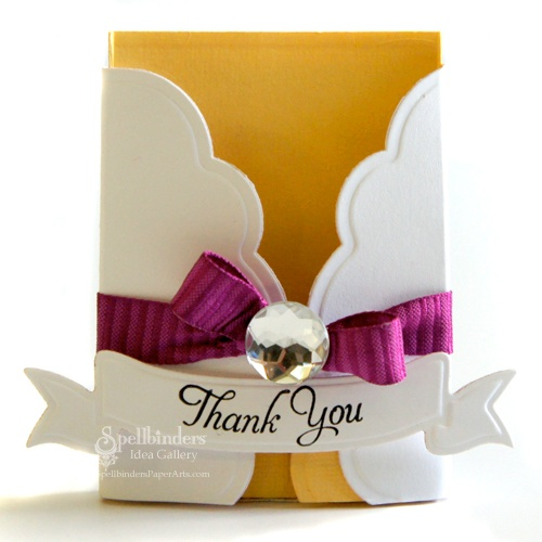 thank you gift card holder think crafts by createforless
