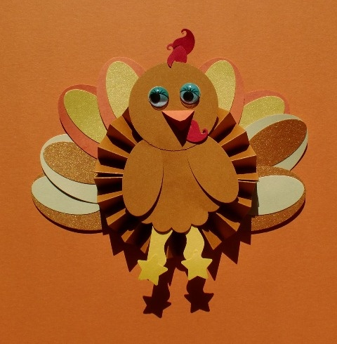 Paper thanksgiving decorations - photo#14