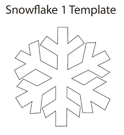 This is an image of Gratifying Snowflake Cutouts Printable