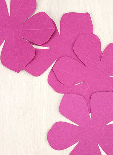 Diy paper flowers think crafts by createforless for Paper cut out templates flowers
