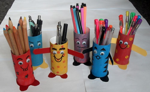 Kids Crafts Cardboard Rolls Think Crafts By Createforless