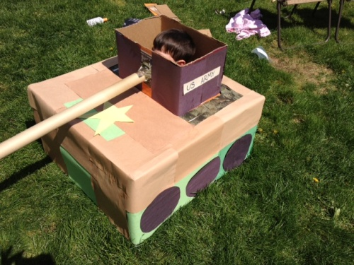 recycled army tank think crafts by createforless