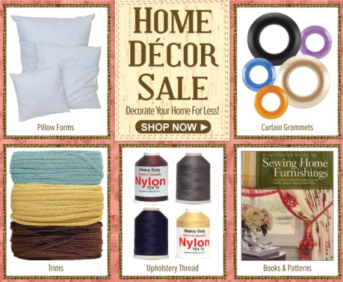 Home decor sale decorate your home for less think for Home decor for less