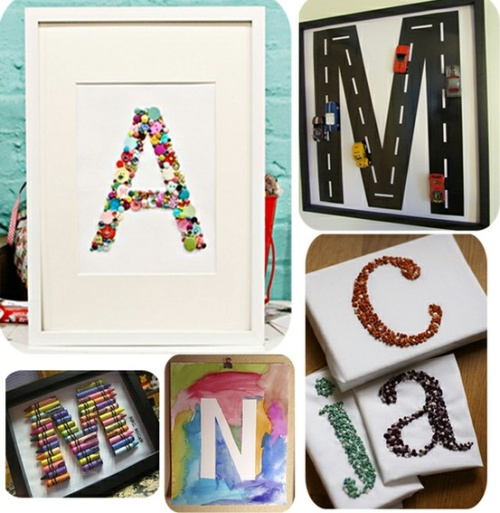 craft trends - monogram