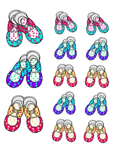 baby shoe clip art think crafts by createforless rh thinkcrafts com baby sandals clipart baby boy booties clipart