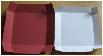 how to make paper boxes with lids for kids