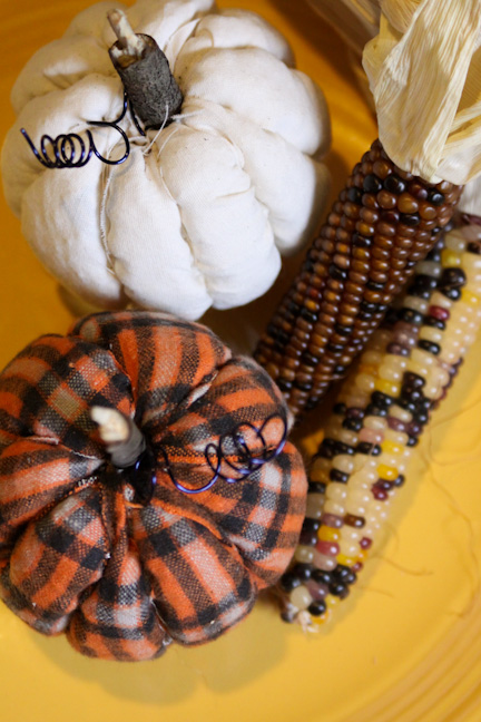 No-Sew Quilted Pumpkins