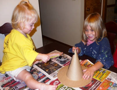 Painting Witches Hat
