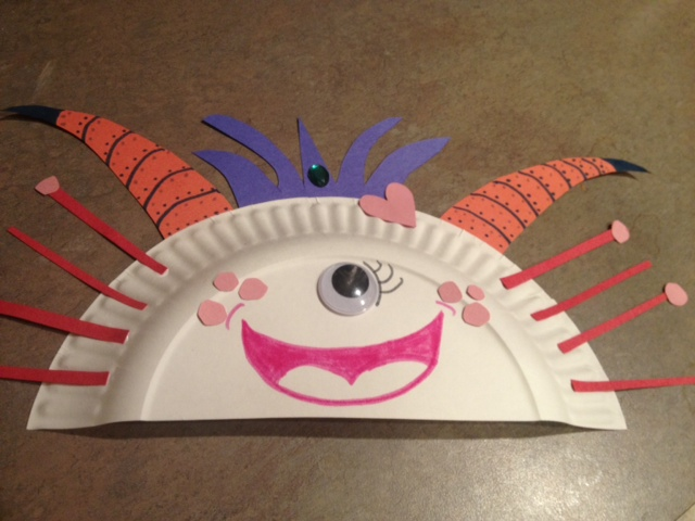 Paper Plate Monsters Think Crafts By Createforless