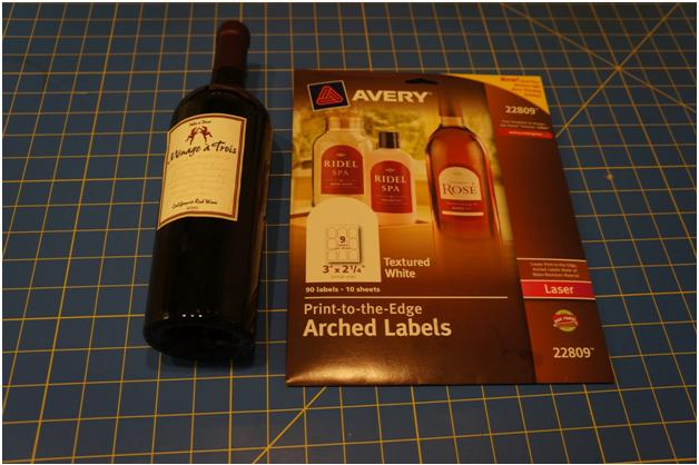 Diy Holiday Wine Labels Think Crafts By Createforless