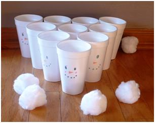 Snowball Toss Game