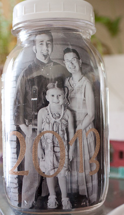 Year in a Jar at ThinkCrafts.com