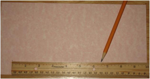 Measure Cardstock