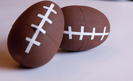 Football Party Favors at ThinkCrafts.com