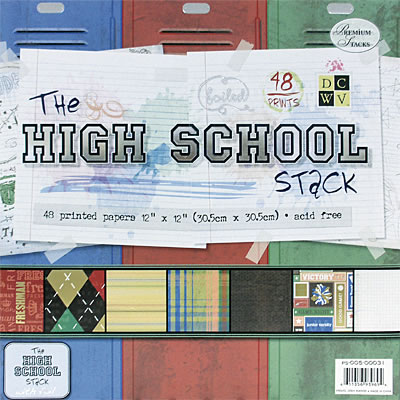 FSF - High School Paper Stack