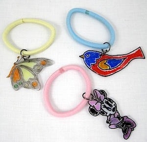 Stretchy Shrinky Bracelet at ThinkCrafts.com