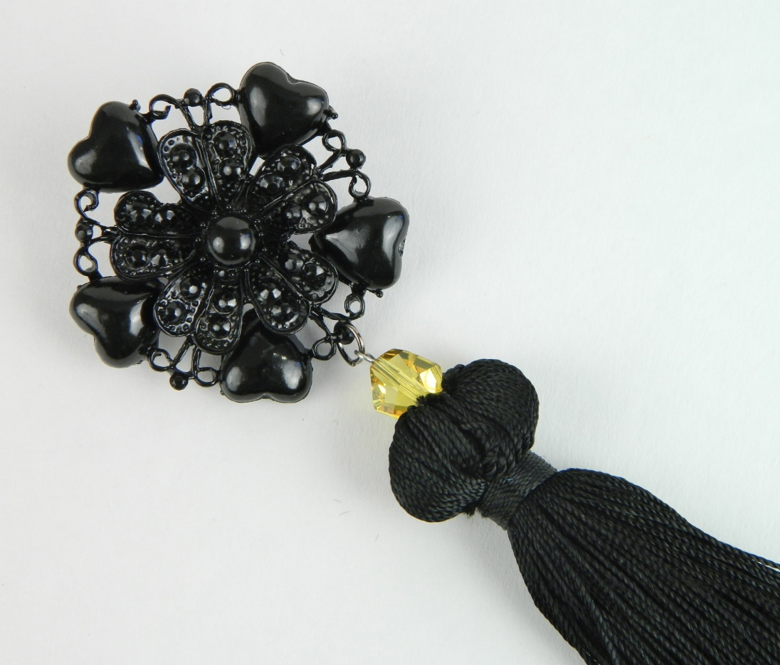 Attach Tassel to Brooch