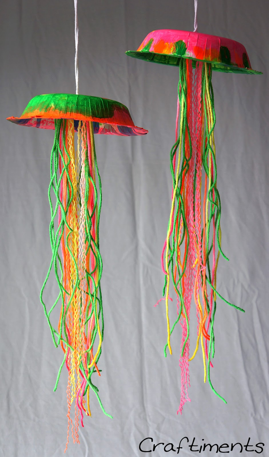 Kid's Craft Glow in the Dark Jellyfish