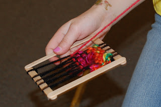 Mini-Weaving Loom - Our Creative Day