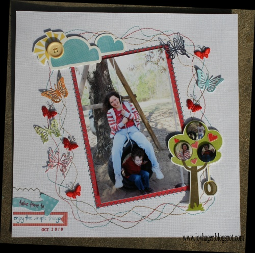 CreateForLess Scrapbook Layout contest Winner