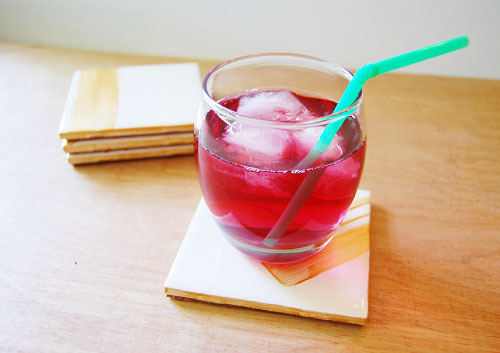 Easy and Pretty DIY Coasters from ThinkCrafts.com