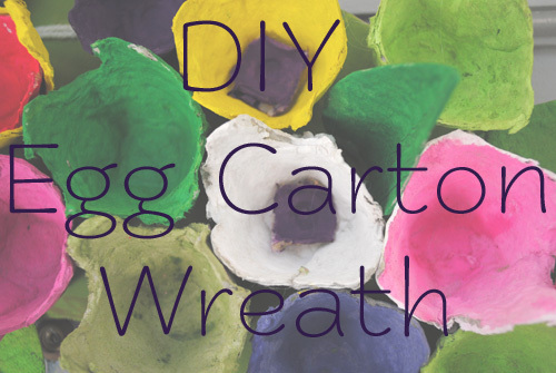 Recycle Old Egg Cartons to Make a Floral Wreath with Brave New Home - ThinkCrafts.com