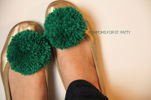 Lovely Indeed Pom Pom Shoe Clips