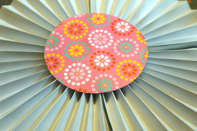 Paper Fan Decor