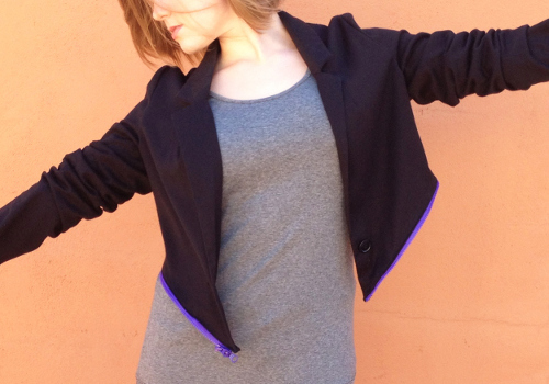 Plan B Anna Evers Zipper Blazer