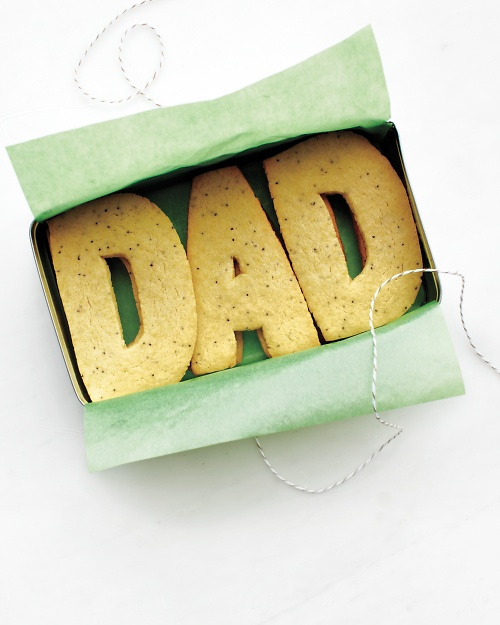 Dad Sugar Cookies - Martha Stewart