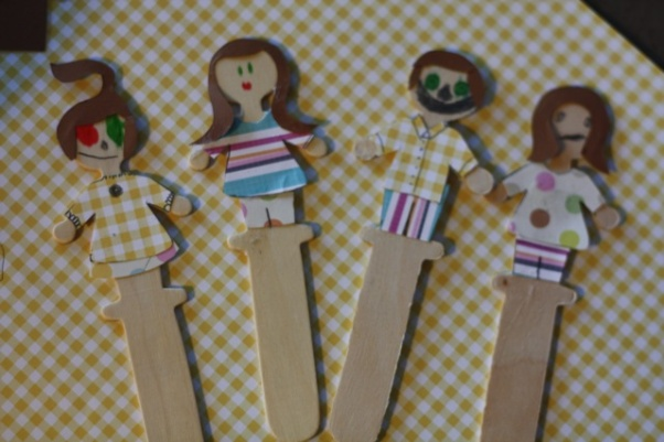 Scrapbook Scrap Puppets Think Crafts By Createforless