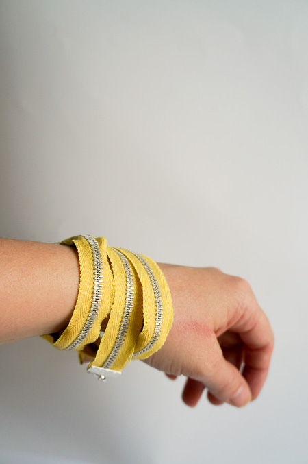 An easy and trendy DIY bracelet. Tutorial at ThinkCrafts.com