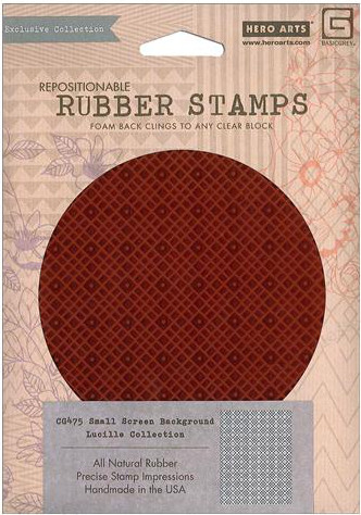 BasicGrey Repositionable Rubber Stamp
