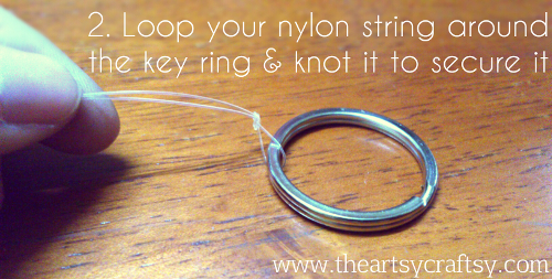 Key Ring Knot
