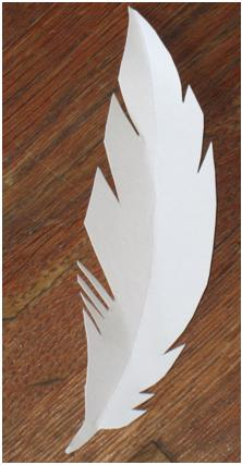 Paper Feather