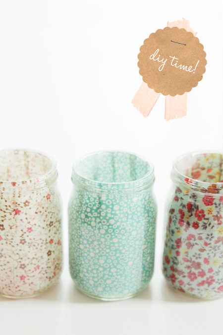 Sweet DIY Votives - Fellow Fellow