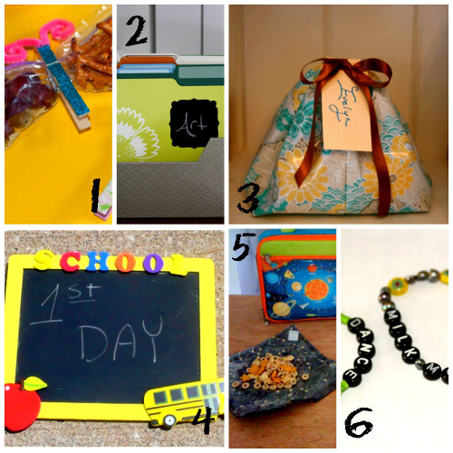 Back to School Craft Ideas from ThinkCrafts.com
