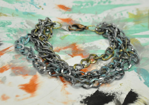 Multi glazed chain
