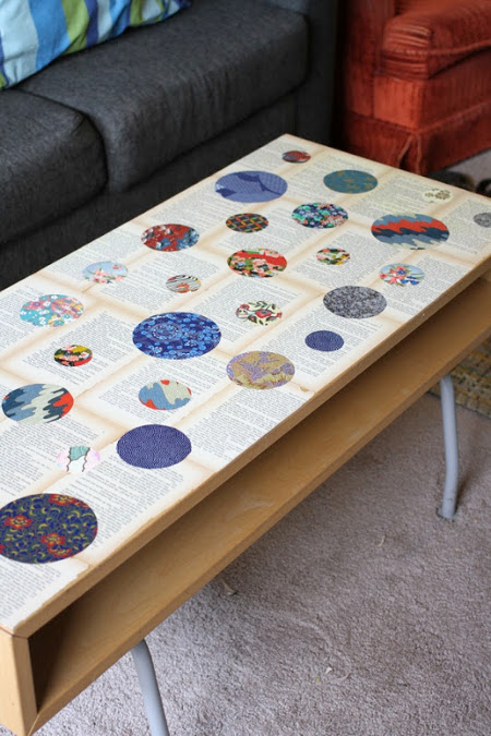 Washi Paper Coffee Table