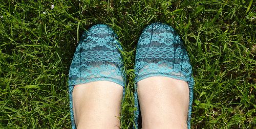 Lacy Flats Revamp - Dream a Little Bigger