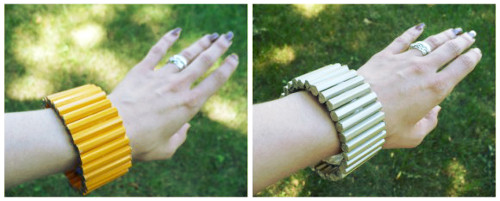 Pencil Cuff Bracelet - Dollar Store Crafts