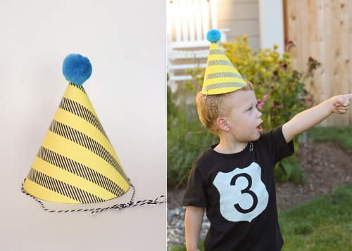 DIY Party Hats at ThinkCrafts.com