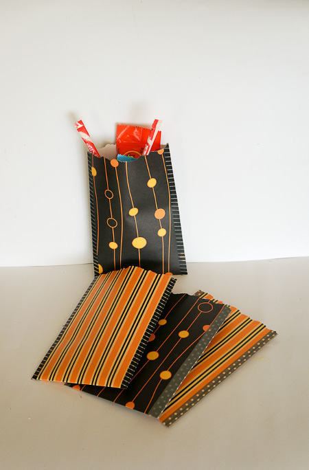 Make Your Own Treat Bags - Tutorial at ThinkCrafts.com