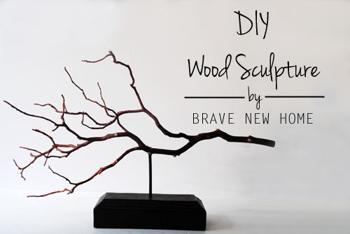 Easy sculpture for home decor