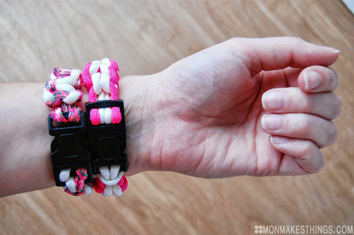 Paracord Bracelets for Breast Cancer Awareness