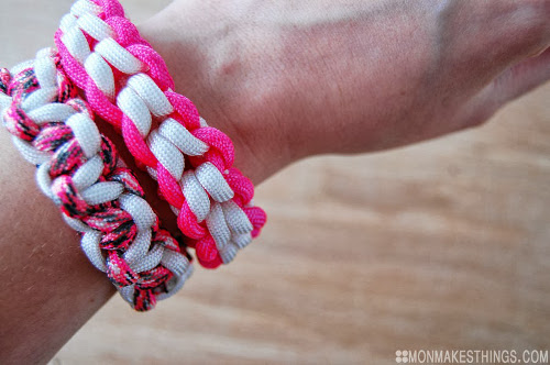 DIY Breast Cancer Awareness Bracelets