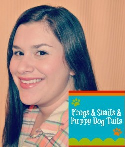 Jamie from Frogs & Snails & Puppy Dog Tails