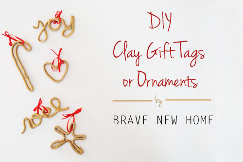 Gold Gift Tags or Ornaments